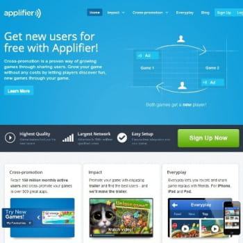 applifier édite un réseau de promotion croisée d'applications