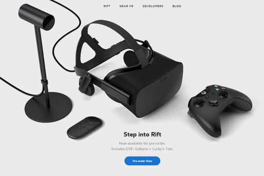 L'Oculus Rift coûtera 743euros s'il est commandé depuis la France