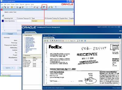oracle content management est équipé d'un module de gestion d'images. il peut