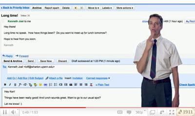 pour envoyer un mail avec gmailmotion, il suffit de lécher un timbre imaginaire