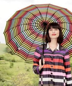 les rayures multicolores représentent 40% des ventes.
