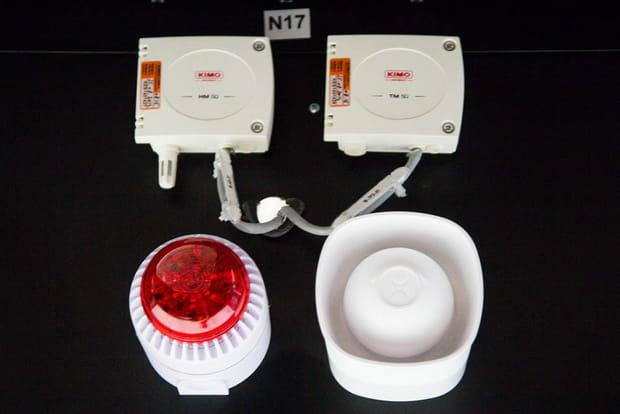 Une double détection anti-incendie