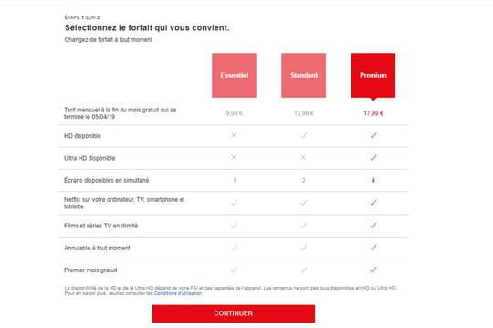 Netflix teste des tarifs à la hausse en France