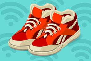 Les vêtements intelligents trouvent chaussure à leur pied