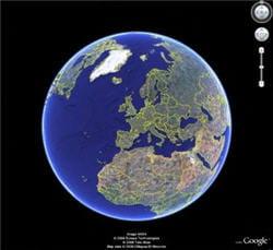 le produit google earth a été développé par la société keyhole,rachetée par