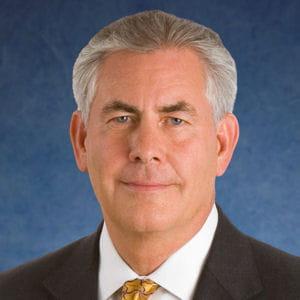 rex tillerson est membre de la business roundtable, consortium de patrons