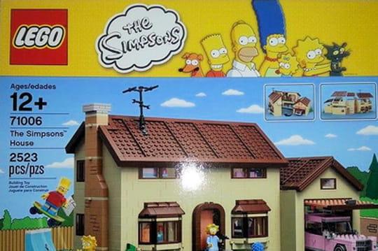 Les Simpson débarquent chez Lego