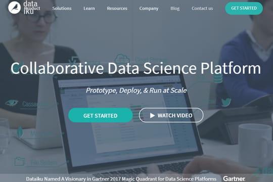 Match des studios de data science: Dataiku, champion de l'ergonomie