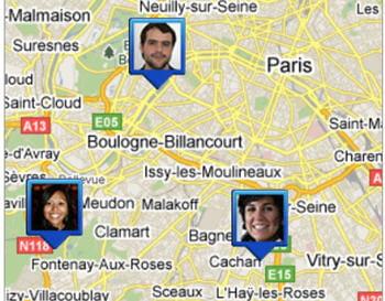 google lattitude : pour localiser le portable de vos amis...