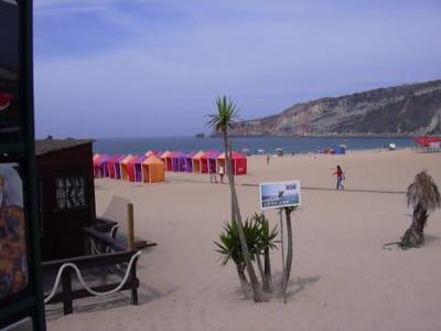 une plage du portugal, près de porto.