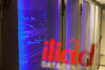 salle informatiques du data center dc3 d'online (filiale d'iliad spécialisée