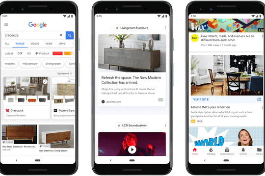 Shopping et publicité, Google montre les muscles au Google Marketing Live