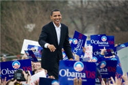 pendant sa campagne, barack obama utilisait goolge moderator. une fois élu, il