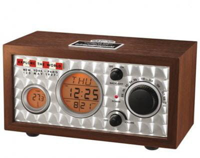 une radio moderne dans un look rétro