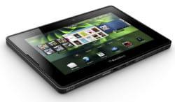 le blackberry playbook devrait venir concurrencer l'ipad dès cette année
