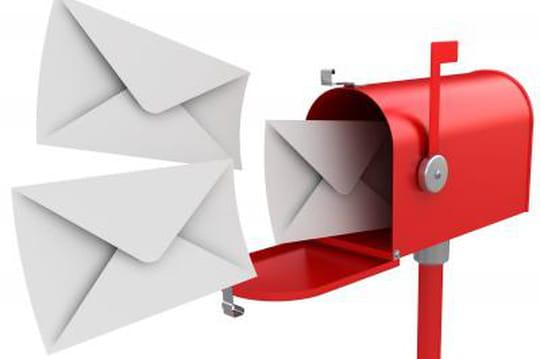 Infographie : les usages des internautes en matière d'emailing