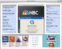 le lecteur multimédia d'apple, parfois utilisé pour les vidéos hd sur internet