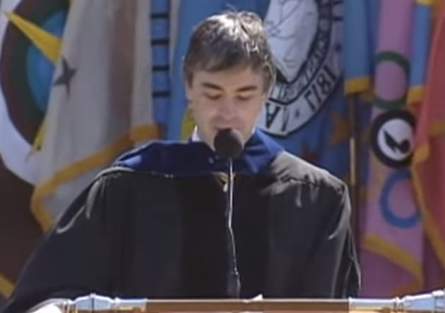 larry page commencement ress google