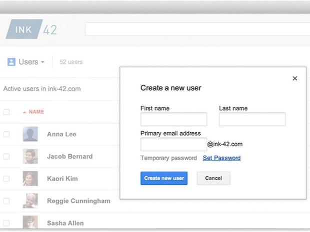 20e - Google Apps Admin