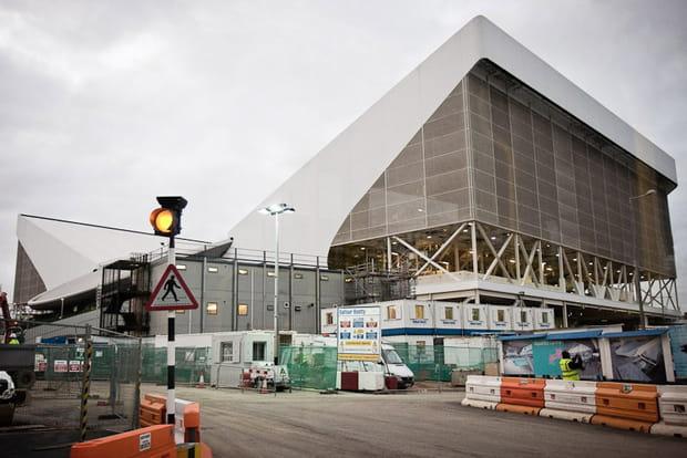 JO de Londres 2012 : centre aquatique