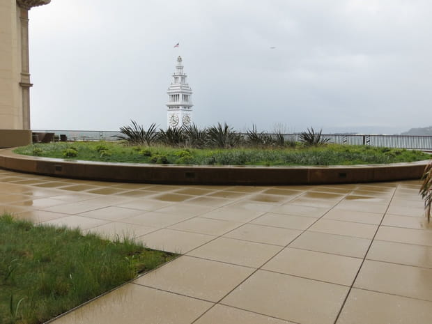 Une terrasse géante