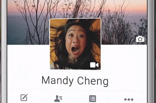 """Facebook : la """"vidéo de profil"""" bientôt sur le mobile"""