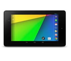 la tablette google nexus 7.