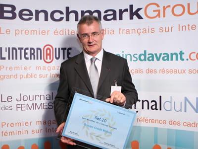 daniel baal, directeur général du crédit mutuel ile-de-france.