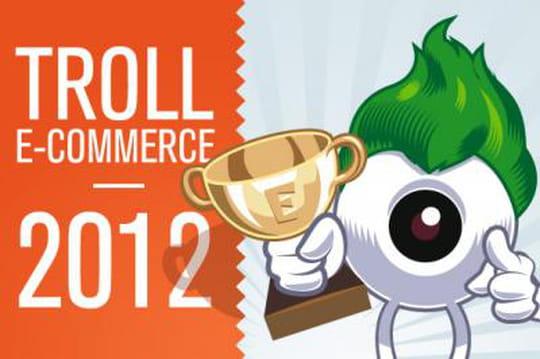 Le troll e-commerce 2012 est attribué à...