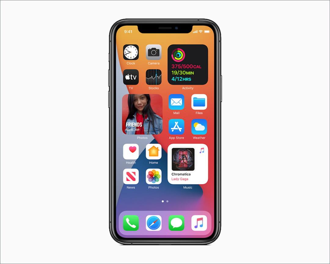 IOS 14 d'Apple apporte un nouveau regard sur les choses