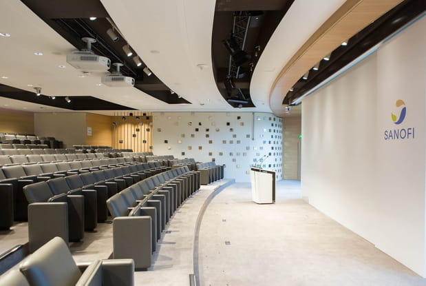 Un auditorium de 250 places