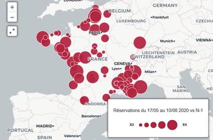 Airbnb: les villes françaises qui profitent le plus du coronavirus