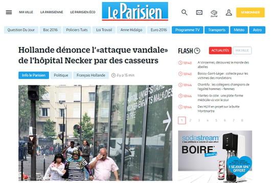 Avec sa nouvelle formule, le site du Parisien généralise le paywall