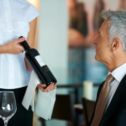 pour le vin comme au bureau, c'est encore le patron qui décide.