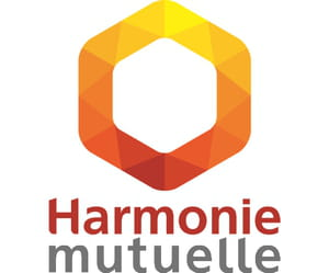 le logo harmonie mutuelle.
