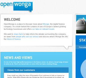 la valorisation de wonga dépasserait le milliard de dollars.
