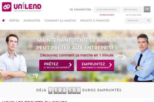 Confidentiel: Unilend lève 8millions d'euros pour prêter aux PME