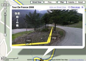 les images de routes de montagne sont particulièrement réussies.