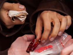 un deal de drogue dures.