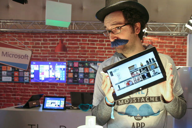 LeWeb Paris 2012 : 1moustache1app