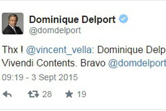 Dominique Delport devient Président de Vivendi Contents