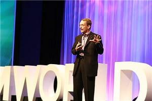 pat gelsinger, pdg de vmware, à l'occasion de vmworld, l'événement mondial de