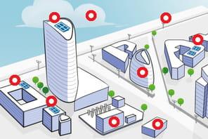 Infographie : ils se cachent derrière le premier smart grid de quartier français