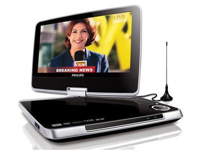 lecteur dvd portable avec tuner tnt intégré