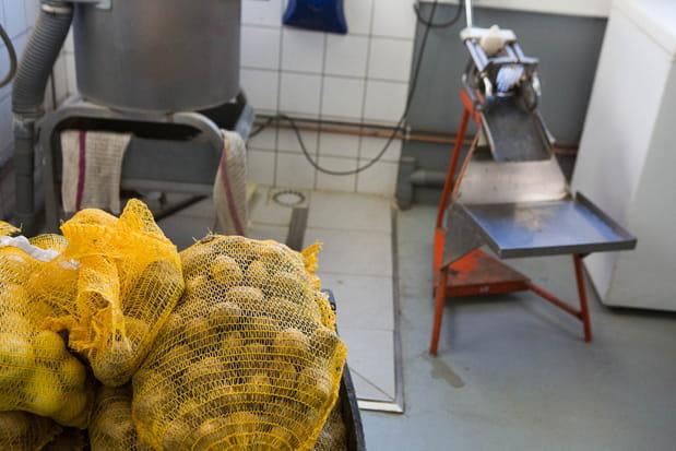 10 tonnes de pommes de terre utilisées par an