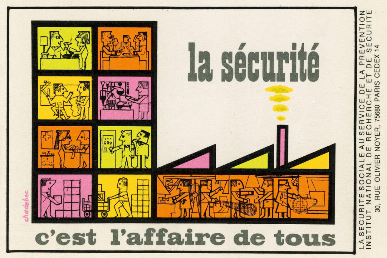 Bien connu Sécurité au travail : 60 ans d'affiches SF06