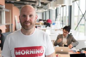 "Eric Charpentier (Morning):""Payname devient Morning et va lever 10à 15 millions d'euros"""