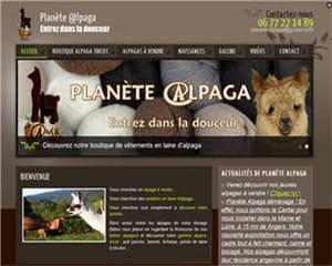 le site planète alpaga créé sous viaduc.