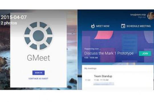 Google sur le point de lancer un nouveau service de téléconférence?