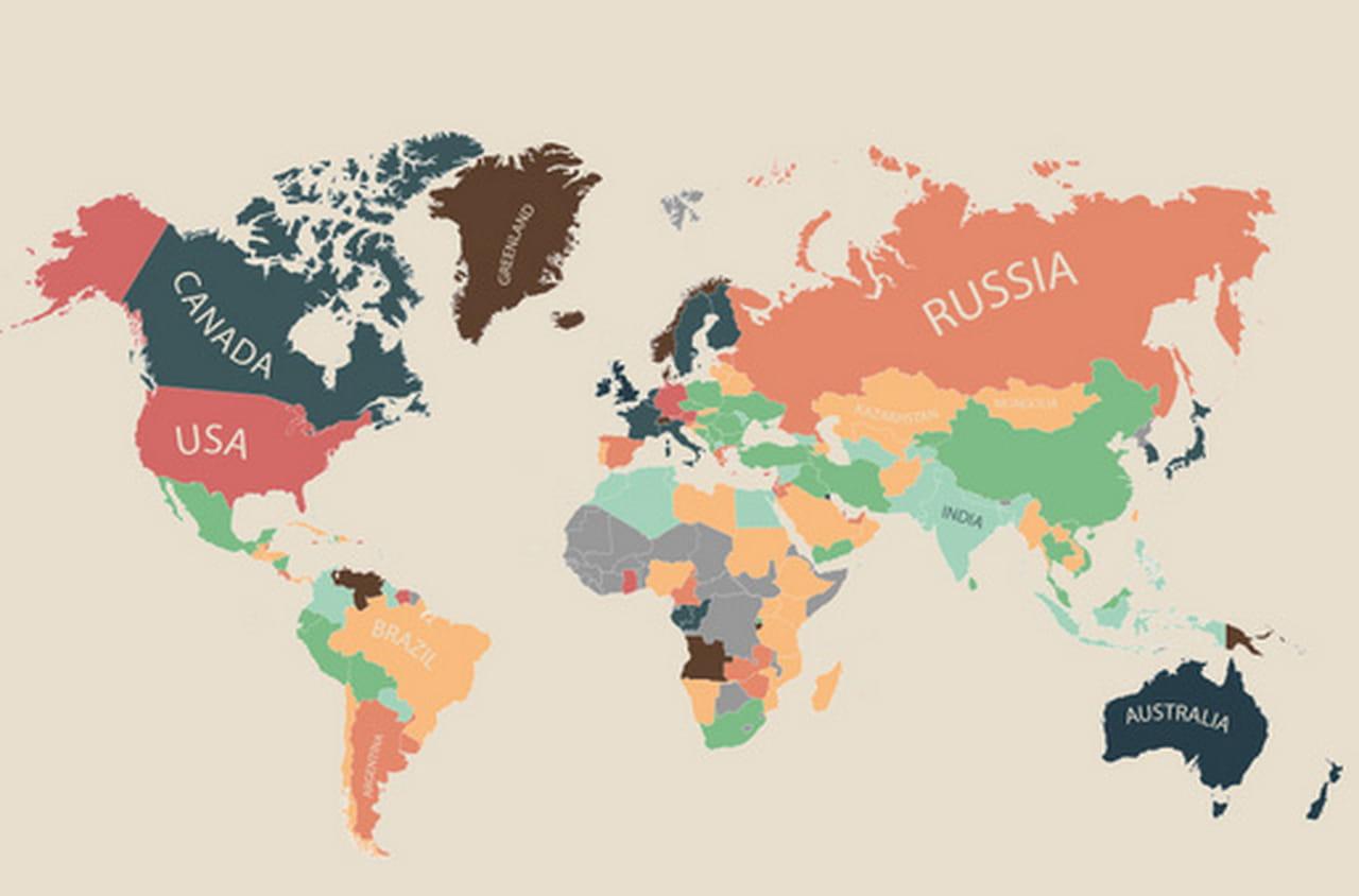 le co t de la vie dans chaque partie du monde en une infographie. Black Bedroom Furniture Sets. Home Design Ideas